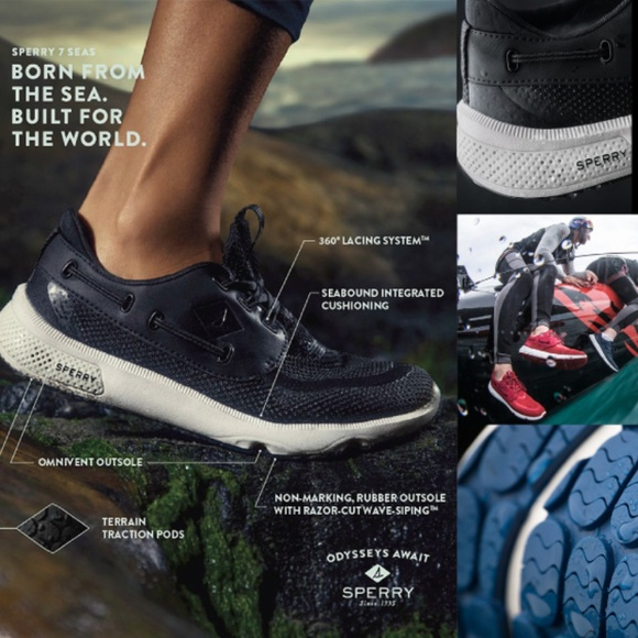 Sperry Shoes | New Sperry 7 Seas 3 Eye